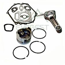 PISTON KIT FOR HONDA GX340 11HP PIN RINGS CONNECTING ROD FULL GASKET KIT SET