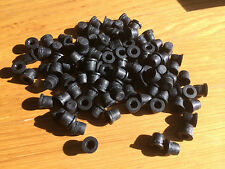 NEW BIG PACK OF RUBBER GREASE NIPPLE COVERS , DUST CAPS , BLEED SCREW CAPS x 100