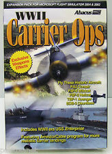 CARRIER OPS WWII EXPANSION PACK FOR FS 2004 & 2002 INCL WWII USS ENTERPRISE NEW