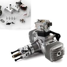 DLE40 40cc 2-Zylinder Gasmotor Benzinmotor mit Ignition&Auspuff f. RC Flugmodell