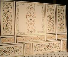 Dollhouse Miniature WallPaper Decorative Wall Paper Fancy Design