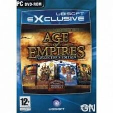 Age of empires collectors (limited) edition jeu pc neuf