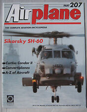Airplane Issue 207 Sikorsky SH-60 Seahawk cutaway & poster, Curtiss Condor II
