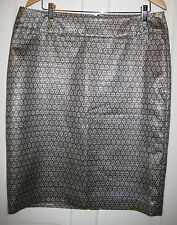 NWT- CHARTER CLUB *Imported from USA* Gorgeous metallic skirt size 18