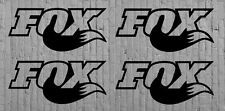 Fox Stickers Decal set 4 Suspension Graphics MTB DH Downhill Forks Replacement