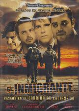 DVD - El Inmigrante NEW Basado En El Corrido De Calibre 50 FAST SHIPPING !