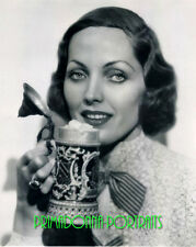 ADRIENNE AMES 8X10 Lab Photo Sexy Close-Up Portrait with German Beer Stein