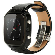 FIFINE W9 SmartWatch Phone Android 4.4 1GB RAM 8GB ROM 3G 5.0MP cámara GPS negro