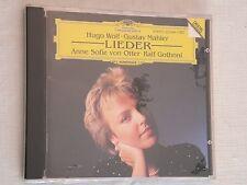 Hugo Wolf, Gustav Mahler: Lieder, Anne Sofie v Otter (CD, Apr-1989, DG), SEALED!