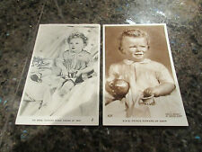 2x Postcard Royalty Photo HRH Prince Edward of Kent Marcus Adams