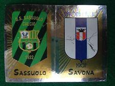 CALCIATORI 2002-2003 03 692 SASSUOLO SAVONA SCUDETTO Figurina Sticker Panini NEW