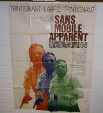 Original movie poster Cinema-Affiche originale-Sans Mobile Apparent 120*160