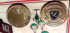 Army GR/PNMA 1st Ranger Battalion Challenge Coin ENGRAVEABLE!