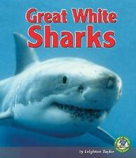 Great White Sharks (Early Bird Nature Books)-ExLibrary