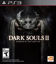 NEW Dark Souls II 2 Scholar of the First Sin (Sony PlayStation 3, 2015)