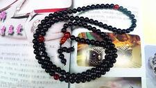 Tibetan Buddhist 6mm Agate Beads Buddhism Buddha Prayer Mala Necklace/Bracelet