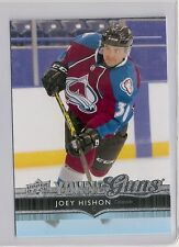 2014-15 UPPER DECK YOUNG GUNS #216 JOEY HISHON COLORADO AVALANCHE