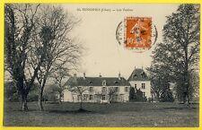 cpa RARE 18 - VENESMES (Cher) Les VASLINS Château Ecrite en 1917 par CHENIER