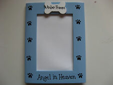 MEMORY DOG - ANGEL IN HEAVEN custom personalized pet photo picture frame