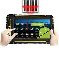 Rugged android 4.4 barcode scanner waterproof IP67 tablet with 4g wifi NFC GPS