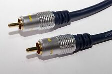 Pro Signal HiQ Subwoofer Lead phono/RCA to phono/RCA OFC cable 10M