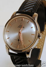 1958's VINTAGE RARE OMEGA SEAMASTER 315.164 AUTOMATIC WATCH MEN'S CALIBER 491