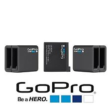 GoPro Hero4 Dual Battery Charger + Rechargable BATTERY For Black & Silver (Bulk)