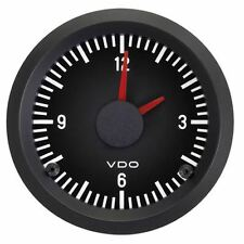 TYPE 2 BAY VDO Clock, 52mm, Black Cockpit - V370021