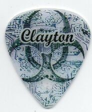 BIO HAZARD DESIGN STANDARD SIZE GUITAR PICKS (3) by CLAYTON