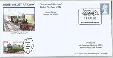 GB 2012 Nene Valley Railway - Continental Weekend Ltd Ed cover