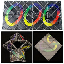 8 Panel 5 Ring Rubik Master Magic Folding Puzzle Toy ghost hand Children Gift