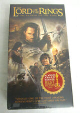 The Lord of the Rings: The Return of the King (VHS,2004, 2-Tape Set, Full-Screen