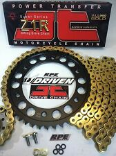 BMW S1000RR '12/15 JT Z1R 520 GOLD CHAIN AND SPROCKETS KIT *OEM ,Q.A. or Fwy