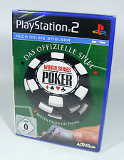 WORLD SERIES OF POKER für PlayStation 2 NEU in Folie Sony PS2