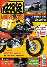 MOTO REVUE 3251 DUCATI 750 Mostro ; KAWASAKI ZX9-R Ninja ; Salon de Cologne 1996