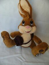 """Thornton's Harry Hopalot Bunny Rabbit Soft Toy 10"""" with bag for gift"""