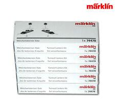 Märklin 74470-05 C-Gleis Weichenlaternen ++ 5er Vorteilspack
