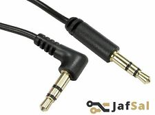 1.5m Meter Stereo Right Angled Male Jack to Straight Male Jack Cable 3.5mm UK