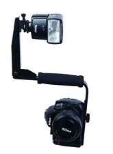 New Quick-Flip Flash Bracket Mount Light Shoe Holder for DSLR Camera &Speedlight