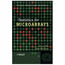 Statistics for Microarrays : Design, Analysis and Inference by John McClure,...