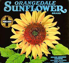 VINTAGE SUNFLOWER~counted cross stitch pattern #283~Flowers Floral Garden Chart