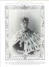 1905 King Oscar The Second Sundered Crown