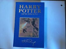 Harry Potter Goblet of Fire DELUXE FIRST EDITION 6th PRINT book 1/6/ unread vgc