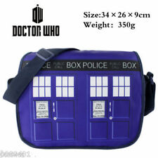 Doctor Who Tardis Zipper Slouch Bag Purse Dr Who Shoulder Bags New