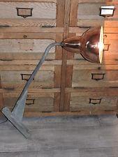 Lampe  potence d' Atelier industriel bec de rue lampadaire