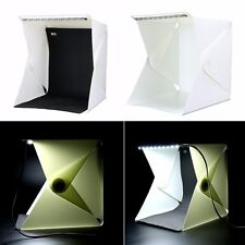 Folding Portable Photo Studio Soft Box Table Cube with Led Light - Awesome!!!