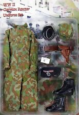 In The Past Toys 1/6 Toy German Panzer Uniform Set (Camouflage) Set C