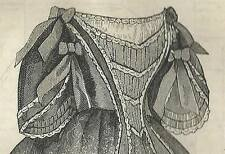 Victorian Clothing Civil War Ballgown Bodice New PATTERN Size 8 to 16