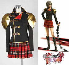 Final Fantasy Type-0 FF Zero Seven Cosplay Costume Halloween Festa *Su Misura*