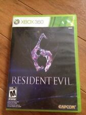 Resident Evil 6 (Microsoft Xbox 360, 2012) VERY GOOD